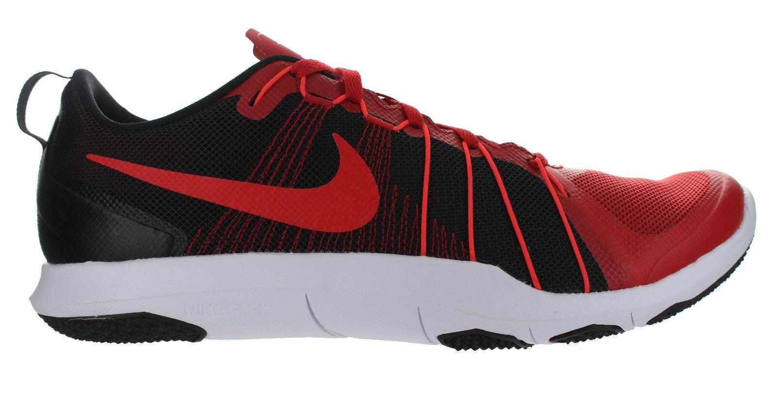 Nike Men's  Flex Train Aver   Red - Black Running shoes Multiple Size NIB