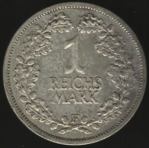 1925-F-Germany-Weimar-Republic-Silver-Reichsmark-Coin-Pennies2Pounds