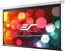 Elite Screens Vmax100xwh2 Premium Electric Motorized Projector Screen Cta