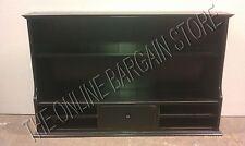 Ballard Designs Office Desk Cabinet Book Shelf HUTCH Furniture Cabinet BLACK