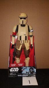 Figurine Scarif Shoretrooper de Star Wars Rogue One de 18 po aux figues de Jakks Nouveau Nrfb!   Scarif Shoretrooper Figurine By Jakks New Nrfb!