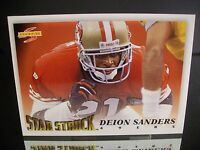Rare Deion Sanders Score 1995 Card #217 San Francisco 49ers Football NFL