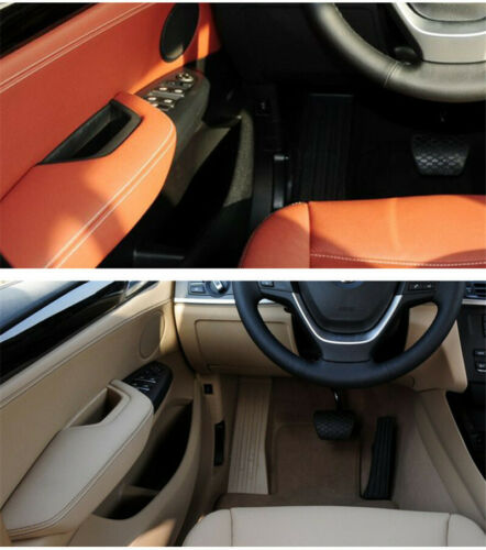 Auto styling Car inside Door Panel Handle Trim Cover Fit for BMW X3 X4 F25 F26