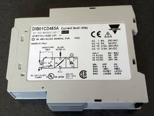 Stromüberwachungsrelais DIB01CD485A Carlo Gavazzi