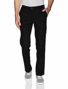 Dockers-Mens-Pants-Black-Size-34x32-Straight-Fit-Classic-Khakis-Stretch-62-360