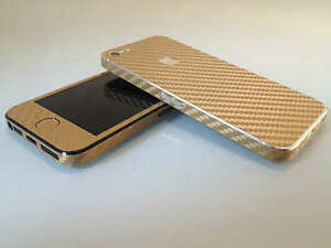 Carbon-Fibre-Full-Body-Decal-Skin-Protector-Sticker-For-Apple-iPhone-4-4S-5-5S