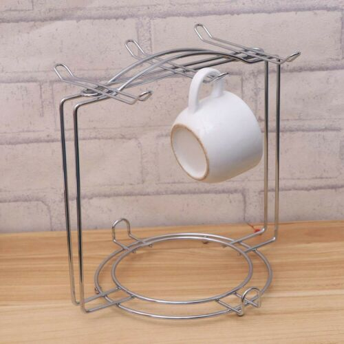 Mug Holder Coffee Cup Tea Drying Rack Stand Storage Organizer Kitchen Shelf