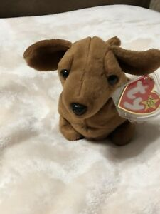 Image is loading Weenie-Beanie-Baby-Weiner-Dog-Style-4013 7d3bd8e87d4