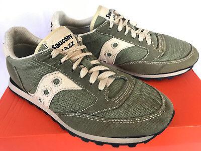 Saucony Jazz Low Pro Vegan 2887 10 Green Moss Mary Hemp Running Shoes Men's 7.5 | eBay