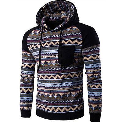 Nuevo Para Hombre Sudaderas Elegante Chaqueta Con Capucha Suéter Diseño Cómodo