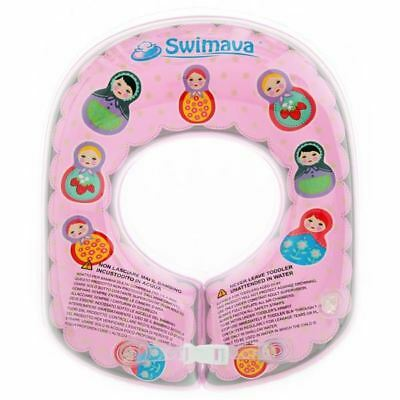 large pink Punctual Swimava G-2 Toddler Body Ring 24-33lb & Optional Combo