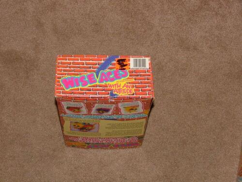 NEW IN BOX! 1990 SAGE Aces ZAP animé déformable figurine marionnette poupée