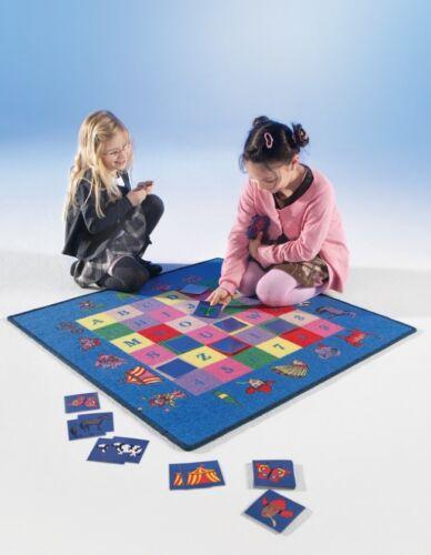 Memory Spielteppich 92x92cm mit Spielkarten +MADE IN EU++Kinder Teppich