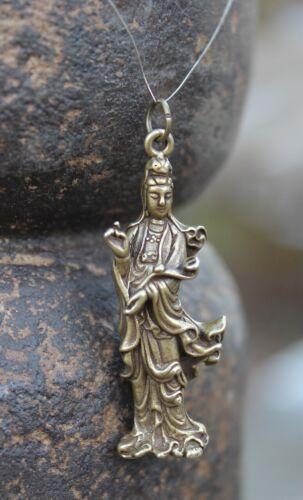 Kwan-Yin Buddha Figur Anhänger Bronze Guanyin Schmuck Buddhafigur AsienLifeStyle