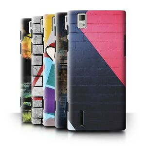 the best attitude ccd9a c7fe3 Details about STUFF4 Back Case/Cover/Skin for Huawei Ascend P2/Urban Street  Art