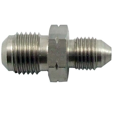 AN -3 ( 3AN) to M12x1.0 Metric Stainless Steel Adapter
