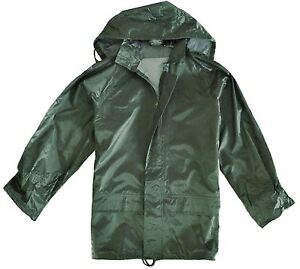 MENS-OLIVE-WATERPROOF-WINDPROOF-JACKET-Gents-outdoor-kagool-fishing-hiking-coat