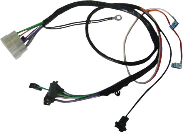 Chevelle Center Console Wiring Harness For Cars With Automatic - Fav