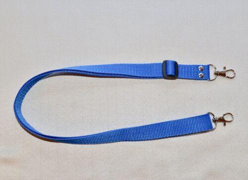 NC 125 a * Cámara SLR Correa de Cuello Hombro Azul Metal Clip W 20 mm para DSLR//Nueva