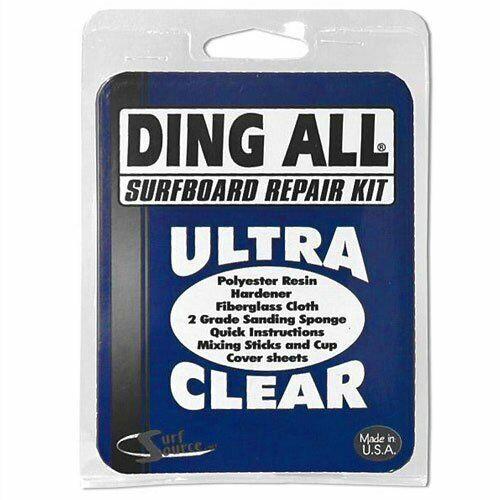 Ding All Standard Polyester Surfboard Repair Kit