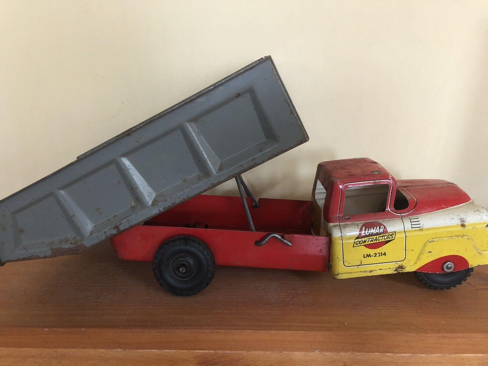 Vintage Mark Lumar Contractors Dump Truck