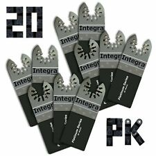 Integra Tools 20 Bi Metal Oscillating Tool E Cut Saw Blade Fits Fein Multimaster