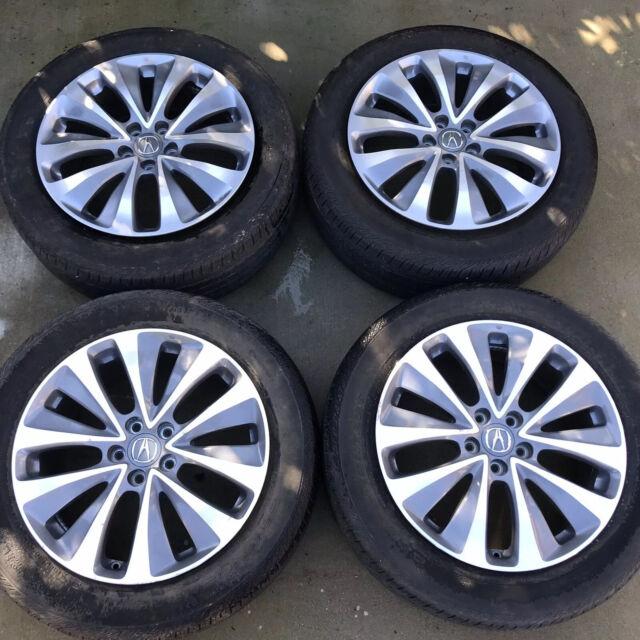 "Set Of 4 19"" Acura MDX OEM Original Factory Stock Wheels"