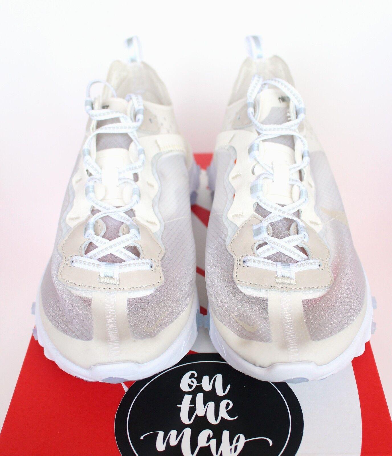 Nike reagieren element element element 87 weißes segel knochen aq1090-100 uns neue 64f17b
