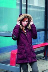 Adidas-Women-039-s-Fishtail-Parka-Jacket-Ladies-Hooded-Coat-S02909