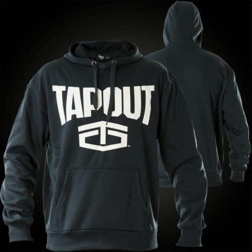 TAPOUT Mens Hoodie Sports Fighter Top Long Sleeve Navy S M L XL 2XL RRP£35