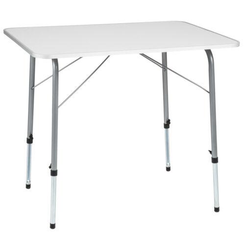 Mesa de camping plegable mesa plegable mesa de caravanas jardín mesa de altura regulable