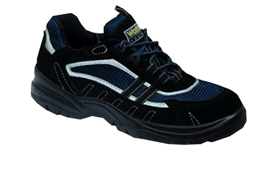WF15 MEN STEEL TOE CAP WORK SAFETY TRAINERS BOOTS BY WORK FORCE SIZES 6 TO 13