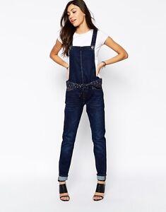 Denvedge Tenue Bavoir Relaxed Slim Salopette Lee Sml Longue Jean Jeans New Fit OnwXkP80