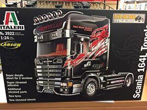 Kit en plastique pour camion Scania 164l Topclass 1:24, modèle 3922 Italeri