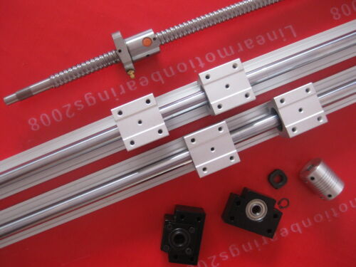 1 ballscrew 1605-850mm+BK//BF12+2 SBR20-800mm rails+4 blocks+Nut bracket