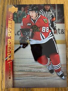 2007-08-Upper-Deck-Young-Guns-Patrick-Kane-Rookie-Card-210-Hockey-Card