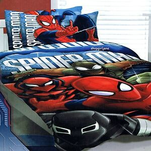 Spiderman Single Size Bedding Set
