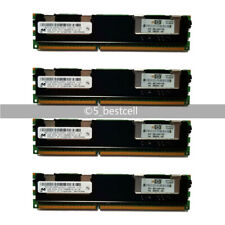 Lot Micron 4GB DDR3 2RX4 PC3-10600R 1333MHz ECC Reg-DIMM Server RAM Memory 7HLK5