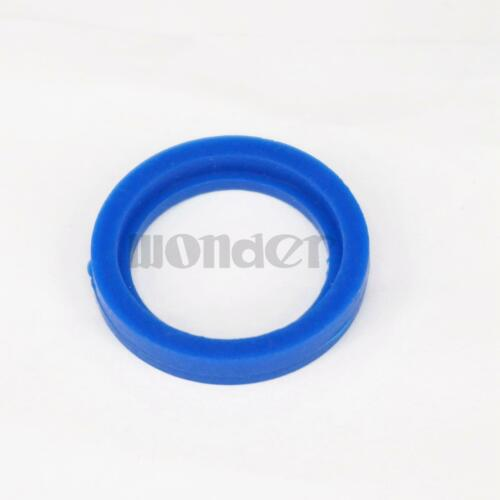 Blue Silicone Flat Gasket Ring Washer Fit 25mm O//D Sanitary SMS Socket Union 5