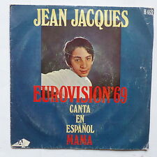 JEAN JACQUES Canta en espanol Mama EUROVISION 69 H463  ESPAGNE