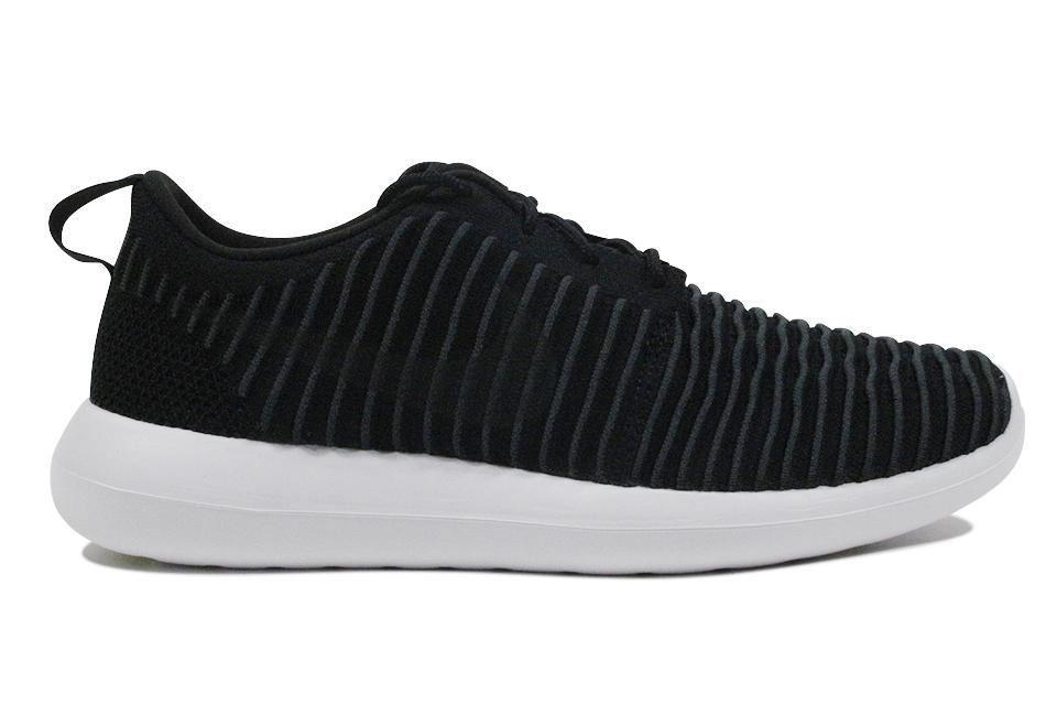 Nike Roshe Two Flyknit 'Black Dark Grey