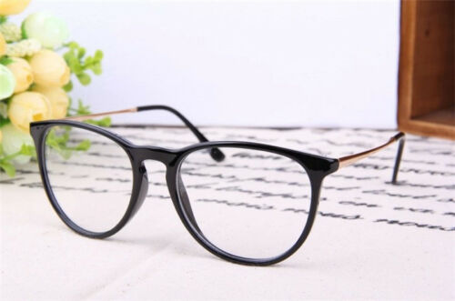 Fashion Unisex Vintage Retro Frame Clear Lens Nerd Geek Glasses Eyeglass Eyewear