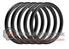 30 St. O-Ring Nullring Rundring 5,0 x 1,0 mm NBR 70 Shore A schwarz