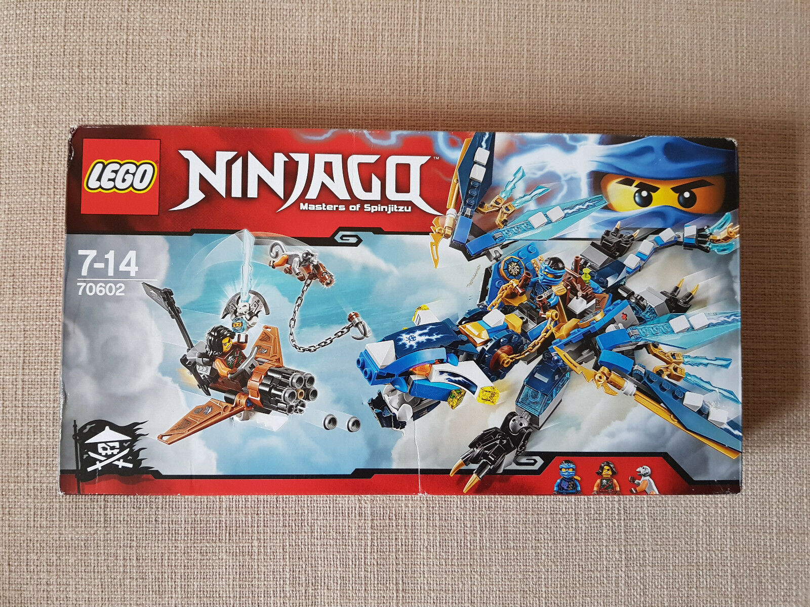 Lego Ninjago Jays Elemental Dragon 70602