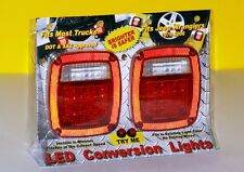 Jeep Wrangler LED Tail lights TailLights Pair, Installs in Minutes New & Bright