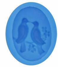 Love Birds Dove Silicone Mold for Fondant, Gum Paste, Chocolate, Crafts