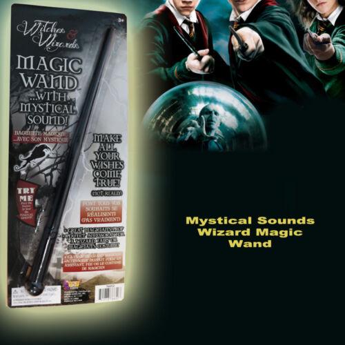 Harry Wizard Magic Wand Mystical Sound Sorcerer Book Week Kid Costume Accessory