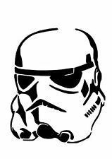 High Detail Star Wars Stormtrooper Airbrush Stencil - Free UK Postage
