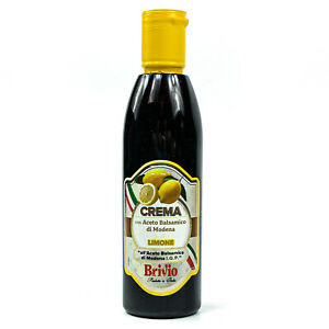 Aceto-Balsamico-with-di-Modena-IGP-Balsam-Vinegar-Cream-034-CITRON-034-250ml-Lemon