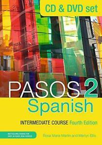 Pasos-2-Fourth-Edition-Spanish-Intermediate-Course-CD-amp-DVD-Pack-cd-amp-dvd-Se